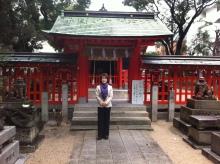 水鏡天満宮 新年参拝2013(福岡支社)