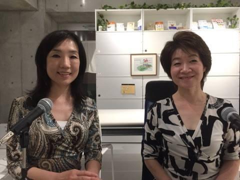 日野佳恵子のpodcastラジオ番組に出演してきました!