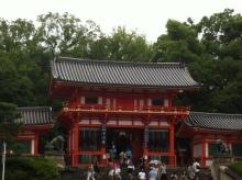 八坂神社、悪王子社参拝。